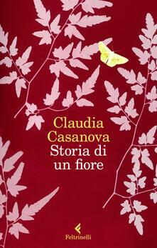 Storia di un fiore - Claudia Casanova - copertina