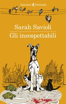 Gli insospettabili - Sarah Savioli - copertina
