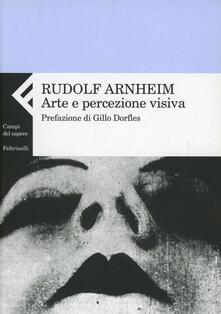 Arte e percezione visiva. Nuova versione - Rudolf Arnheim - copertina
