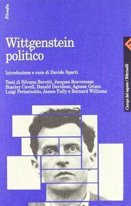 Libro Wittgenstein politico