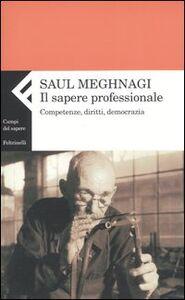 Libro Il sapere professionale. Competenze, diritti, democrazia Saul Meghnagi