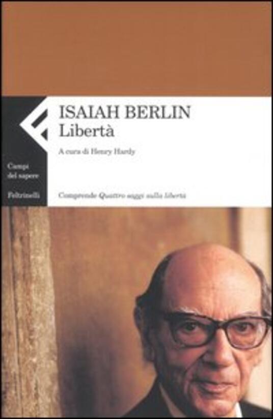 Libertà - Isaiah Berlin - copertina