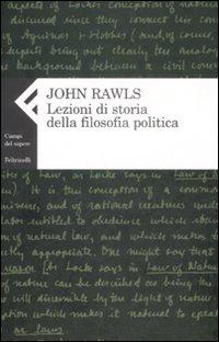 Image of Lezioni di storia della filosofia politica