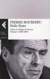 Sullo Stato. Corso al College de France. Vol. 1: 1989-1990.