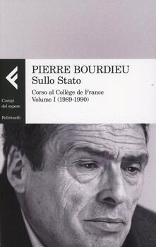 Criticalwinenotav.it Sullo Stato. Corso al Collège de France. Vol. 1: 1989-1990. Image