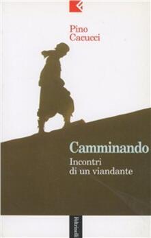 Camminando. Incontri di un viandante - Pino Cacucci - copertina
