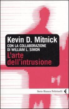 L' arte dell'intrusione - Kevin D. Mitnick - copertina