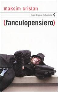 (Fanculopensiero) - Maksim Cristan - copertina