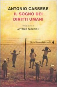 Il sogno dei diritti umani - Antonio Cassese - copertina
