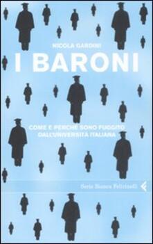 Antondemarirreguera.es I baroni. Come e perché sono fuggito dall'università italiana Image