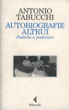 Festivalpatudocanario.es Autobiografie altrui. Poetiche a posteriori Image
