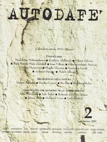 Squillogame.it Autodafé. La Rivista del Parlamento Internazionale degli scrittori (2001). Vol. 2 Image