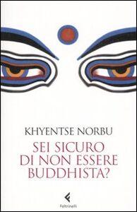 Foto Cover di Sei sicuro di non essere buddhista?, Libro di Norbu Khyentse (Rinpoche), edito da Feltrinelli