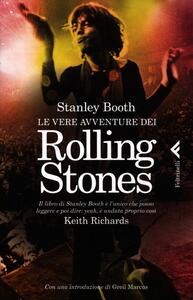 Le vere avventure dei Rolling Stones - Stanley Booth - copertina