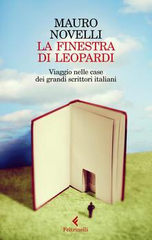 Antondemarirreguera.es La finestra di Leopardi. Viaggio nelle case dei grandi scrittori italiani Image