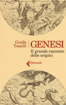 Genesi. Il grande racconto delle origini - Guido Tonelli - copertina