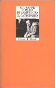 Libro Il gattopardo Giuseppe Tomasi di Lampedusa