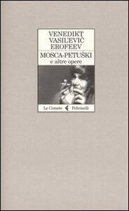Mosca-Petuskì e altre opere - Venedíkt Eroféev - copertina