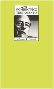 Libro Testamento Witold Gombrowicz