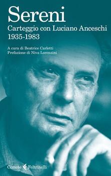 Nicocaradonna.it Carteggio con Luciano Anceschi. 1935-1983 Image