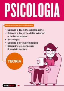 Psicologia. Teoria - copertina