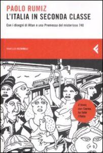 Libro L' Italia in seconda classe Paolo Rumiz