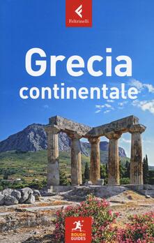 Grecia continentale - Nick Edwards,John Fisher,Rebecca Hall - copertina