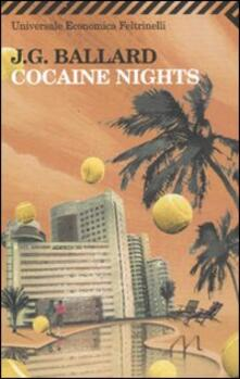 Cocaine nights - James G. Ballard - copertina