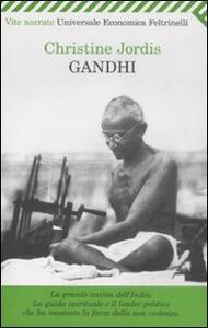 Gandhi - Christine Jordis - copertina