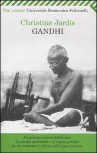 Libro Gandhi Christine Jordis