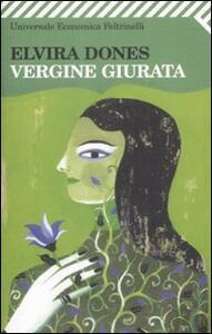 Vergine giurata - Elvira Dones - copertina
