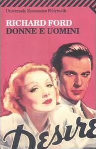 Donne e uomini - Richard Ford - copertina