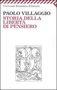 Libro Storia della libertà di pensiero Paolo Villaggio