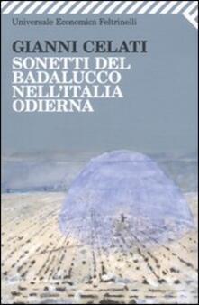 Librisulrazzismo.it Sonetti del Badalucco nell'Italia odierna Image