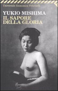 Libro Il sapore della gloria Yukio Mishima
