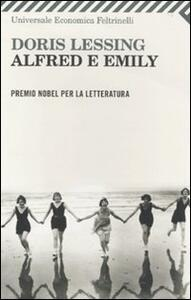 Alfred e Emily - Doris Lessing - copertina