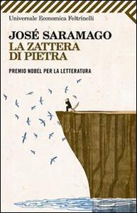La zattera di pietra - José Saramago - copertina