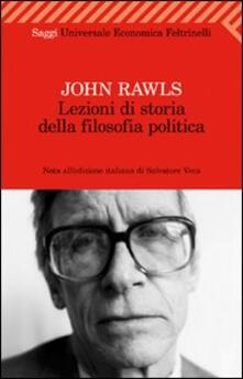 Premioquesti.it Lezioni di storia della filosofia politica Image