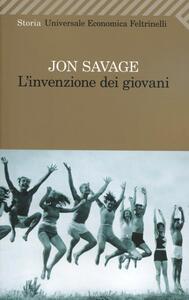 L' invenzione dei giovani - Jon Savage - copertina