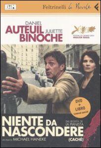 Libro Niente da nascondere. DVD. Con libro Michael Haneke