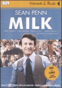 Libro Milk. DVD. Con libro Gus Van Sant
