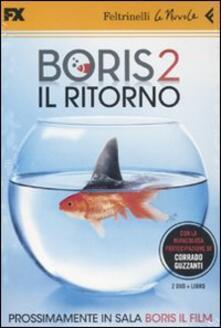 Boris 2. Il ritorno. 2 DVD. Con libro - copertina