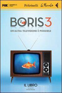 Libro Boris 3. 2 DVD. Con libro