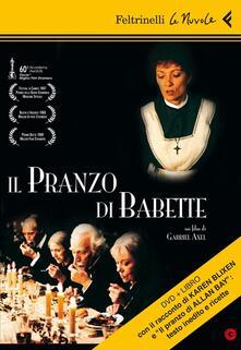 Il pranzo di Babette. DVD. Con libro - Gabriel Axel - copertina