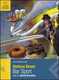 Bar sport letto da David Riondino. Audiolibro. CD Audio Formato MP3 - Benni Stefano - wuz.it