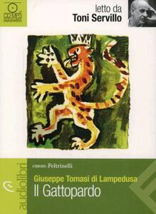 Il gattopardo letto da Toni Servillo. Audiolibro. CD Audio formato MP3 - Giuseppe Tomasi di Lampedusa - copertina