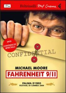 Libro Fahrenheit 9/11. DVD Michael Moore