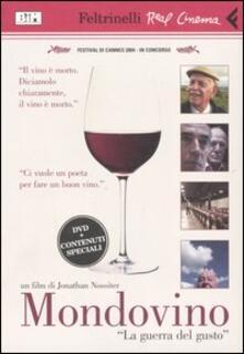 Grandtoureventi.it Mondovino. «La guerra del gusto». DVD. Con libro Image