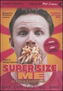 Libro Super size me. DVD. Con libro Morgan Spurlock