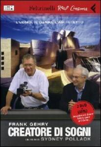 Frank Gehry creatore di sogni. 2 DVD. Con libro - Sydney Pollack - copertina